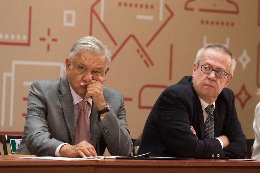 Carlos Urzúa Macias, aseguró que en la administración de López Obrador se han tomado decisiones de política pública sin el suficiente sustento. (Foto: MOISÉS PABLO /CUARTOSCURO)