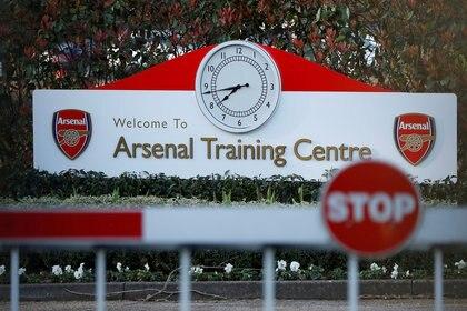 El Arsenal fue el primer equipo de la Premier League en volver al trabajo. Foto: Reuters/Paul Childs/