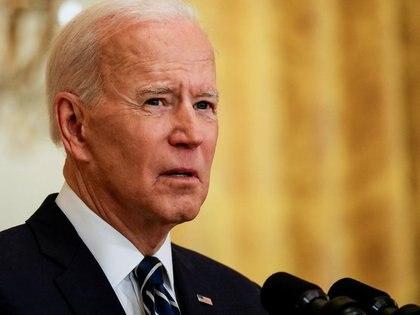 El presidente de Estados Unidos, Joe Biden convocó a 40 países, entre ellos la Argentina, a una Cumbre de Líderes sobre el Cambio Climático (REUTERS/Leah Millis)