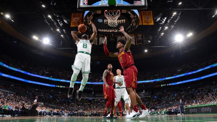 Kemba Walker, la nueva cara de los Boston Celtics (AFP)