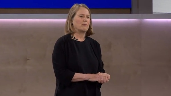 Diane Greene, CEO de Google Cloud.