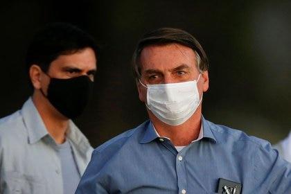 El presidente de Brasil, Jair Bolsonaro (REUTERS/Adriano Machado)