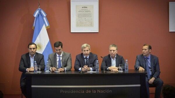 """Rogelio Frigerio anticipó que el presupuesto es """"claramente equilibrado"""" (Gustavo Gavotti)"""