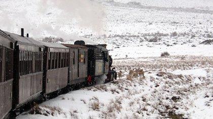 El trayecto supone un viaje en el tiempo para aquellos que desean disfrutar de la experiencia (Secretaría de Turismo de Esquel)