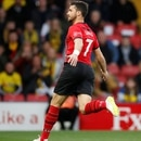 Soccer Football - Premier League - Watford v Southampton - Vicarage Road, Watford, Britain - April 23, 2019 Southampton's Shane Long celebrates scoring their first goal Action Images via Reuters/Andrew Boyers EDITORIAL USE ONLY. No use with unauthorized audio, video, data, fixture lists, club/league logos or