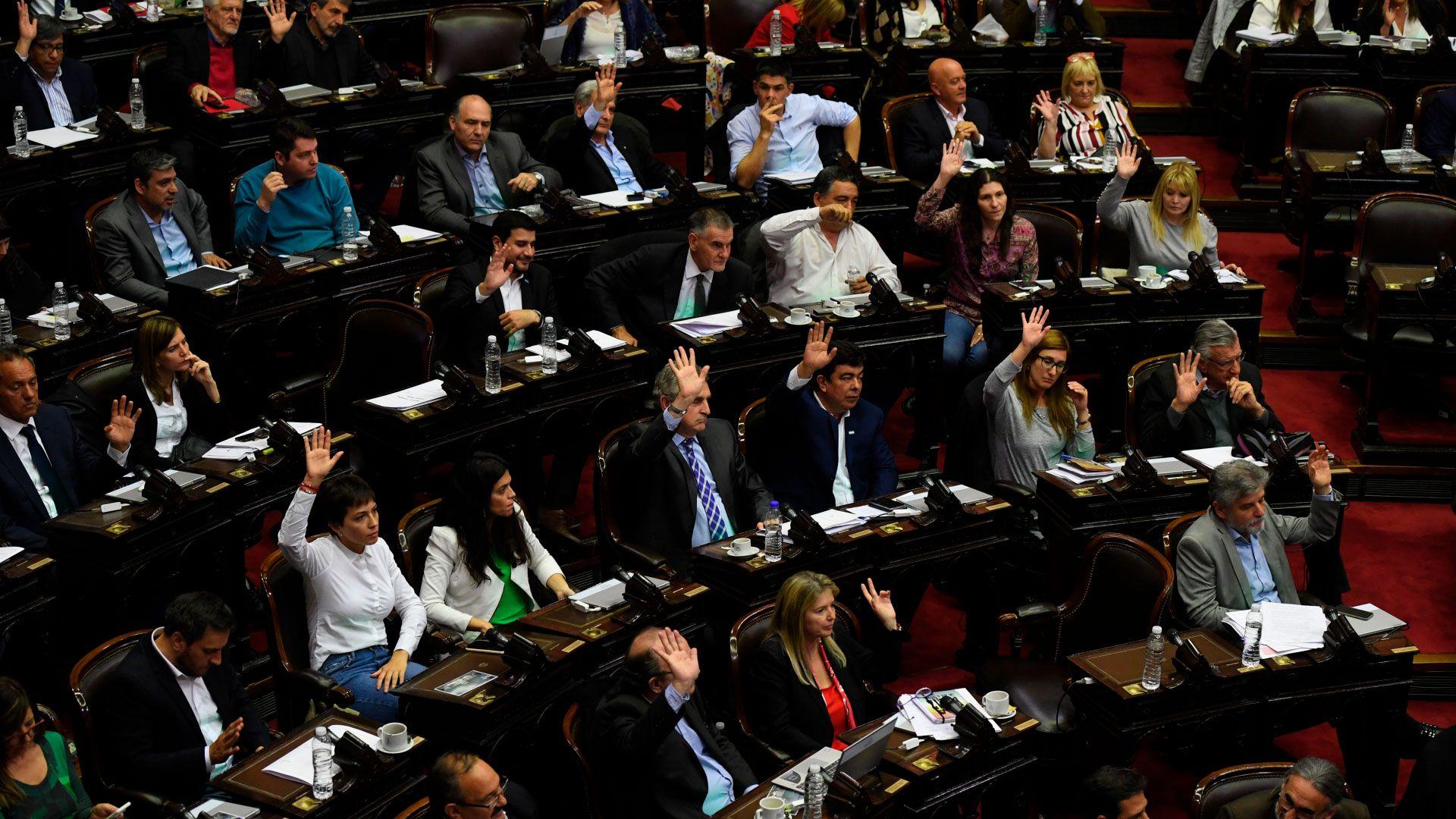 Los diputados aprobaron con 222 votos a favor la emergencia alimentaria (Foto: Maximiliano Luna)