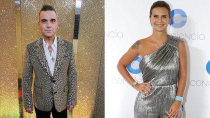 Amalia Granata contó sus dos encuentros con Robbie Williams en Los Ángeles de la mañana