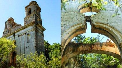 La Iglesia que mandó a construir Don Jacinto Navarro en el Paraje la Isla, en San Luis, escenario de celos entre él y su hijo y abono de teorías fantásticas
