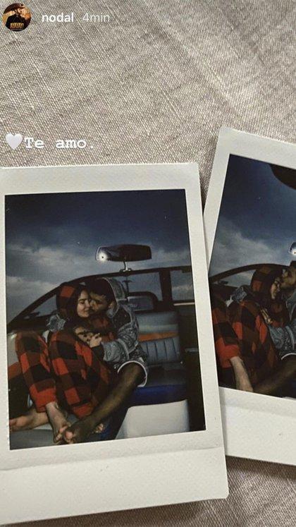 Aunque la cantante siempre ha defendido su vida privada con recelo, durante las últimas horas su situación amorosa quedó expuesta después de que su compañero en La Voz México compartió unas románticas fotografías (Foto: Instagram@ nodal)