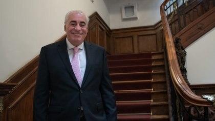 El médico cardiólogo Rafael Díaz fue declarado Ciudadano Distinguido de Rosario en abril de 2019 por su destacada trayectoria en el desarrollo académico y científico de la cardiología local y global (Patricio Murphy)