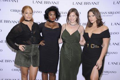 Sabina Karlsson, Precious Lee, Georgia Pratt y Ashley Graham, modelos curvy o de talles plus size que desfilan orgullosas sus cuerpos por las pasarelas del mundo y rompen con los estereotipos.