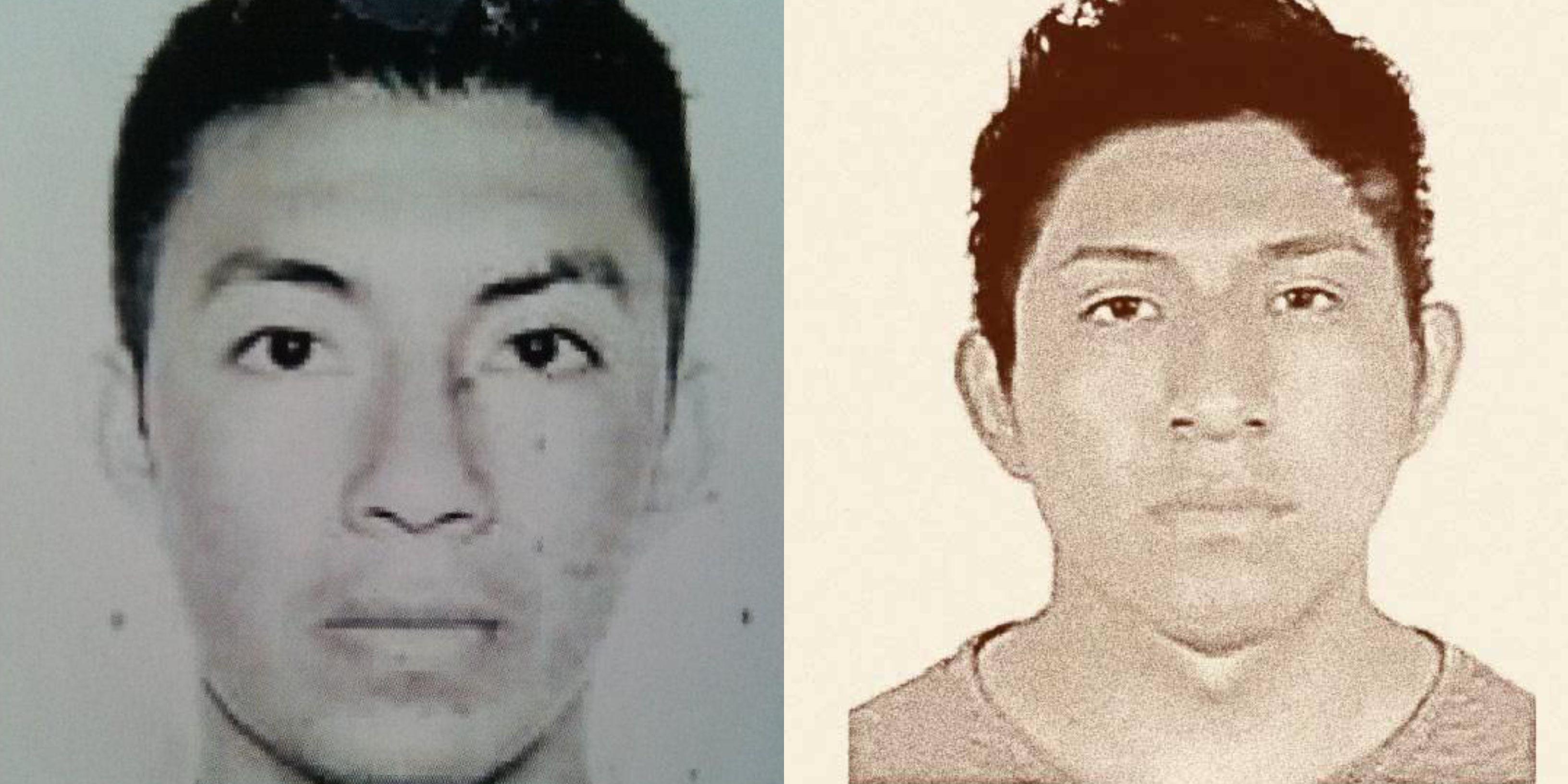 Joshivani Guerrero de la Cruz y Alexander Mora Venancio (Foto: Especial)