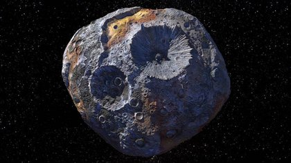 02/03/2021 This illustration shows the objective of the Psyche mission: the asteroid Psyche, located in the main asteroid belt between Mars and Jupiter. RESEARCH AND TECHNOLOGY POLICY NASA / JPL-CALTECH / ASU