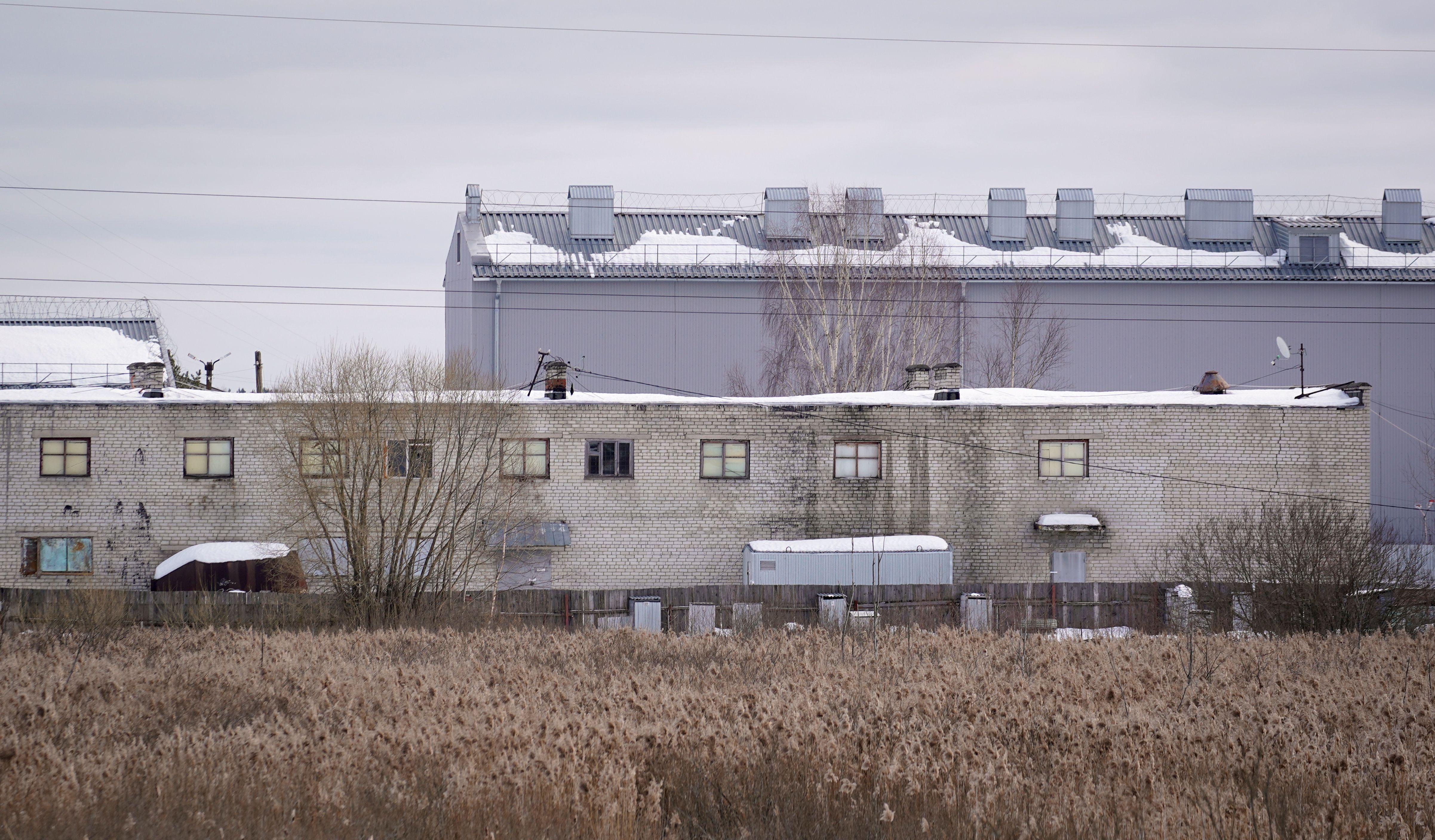 El centro penal en el que Navalny está cumpliendo su condena (REUTERS/Tatyana Makeyeva)