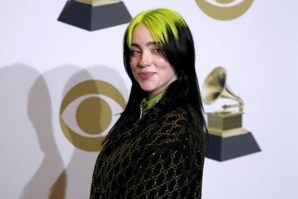 La cantante estadounidense Billie Eilish, en Los Ángeles (California, EE.UU.) (Foto: EFE/David Swanson/Archivo)