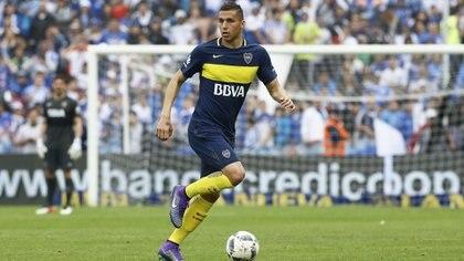 Tobio, en Boca, donde ganó tres títulos -en Vélez había celebrado otros dos- (Javier Garcia Martino / Photogamma)