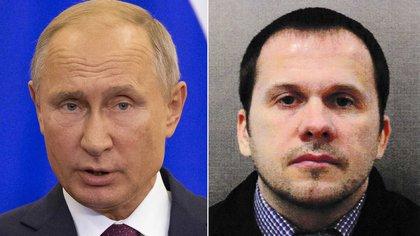 Vladimir Putin y Anatoliy Vladimirovich Chepiga
