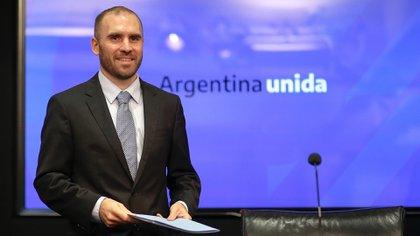 El ministro de Economía argentino, Martín Guzmán. EFE/ Juan Ignacio Roncoroni/Archivo
