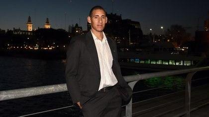 Ariel Suárez, el remero que tuvo la iniciativa de sanear el Río Reconquista(Nicolás Stulberg)