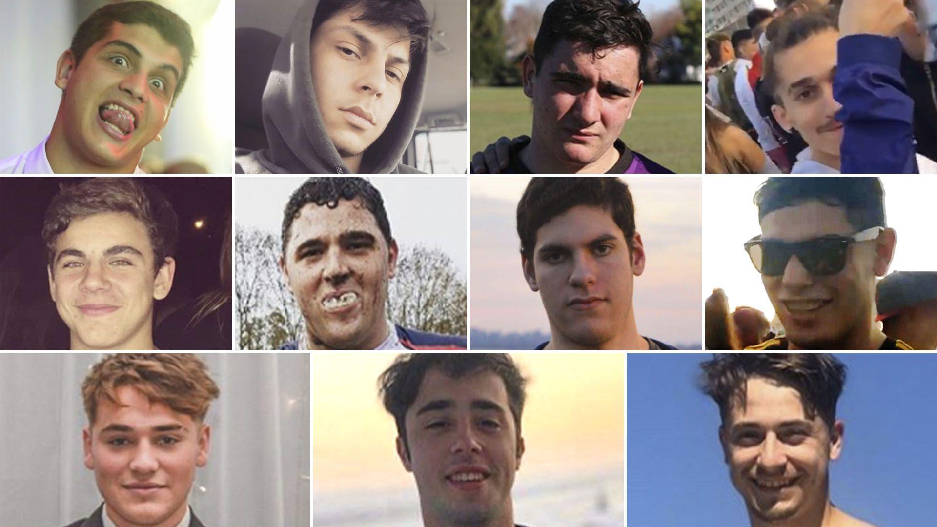 Los 11 jóvenes detenidos por el ataque a golpes mortal contra Fernando Báez Sosa