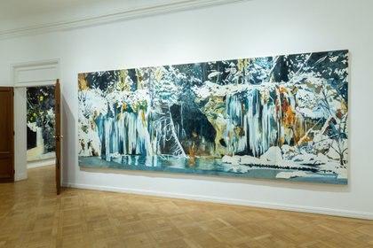 """""""Hanging lake"""" (200 × 500 cm)"""