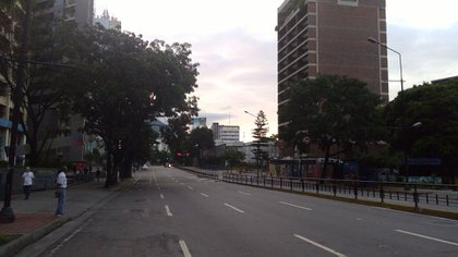 En vísperas del paro, hubo trancazos espontáneos de calles, no convocados por la opositora MUD