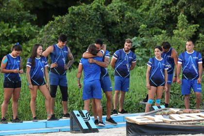 """Los azules necesitan ver quiénes son de vacaciones """"El corazon del equipo"""" (Foto: Twitter / ExatlónMx)"""