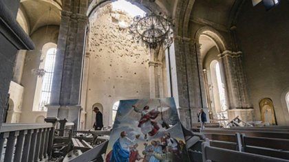Catedral Ghazanchetsots en Shushí