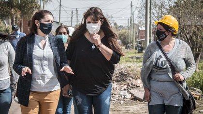Fernanda Miño fue concejal en San Isidro y vive en La Cava. Es la Secretaria de Integración Socio Urbana, una oficina que volvió a Desarrollo Social, como estaba en tiempos de Macri