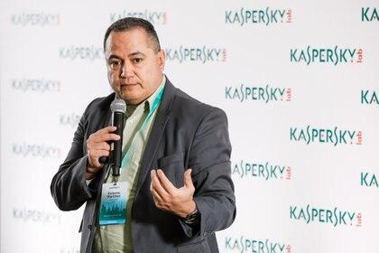 Roberto Martínez, investigador senior en Kaspersky Labs y miembro del Equipo Global de Investigación y Análisis (GReAT)