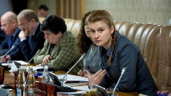 Mariia Butina es una activista por el derecho a portar armas de fuego (Reuters)