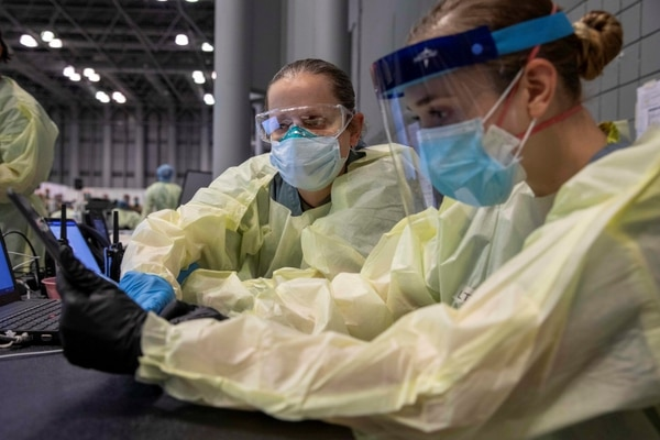 El curso está orientado a profesionales de la salud ( U.S. Army/ Spc. Nathan Hammack/Handout vía Reuters. THIS IMAGE HAS BEEN SUPPLIED BY A THIRD PARTY)