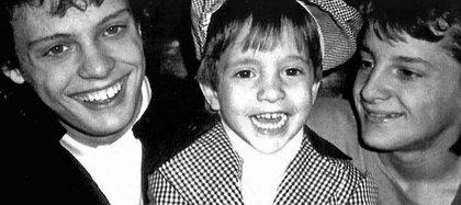 El pequeño Sergio tuvo una infancia muy dura tras la desaparición de su madre (Gentileza revista Quién)