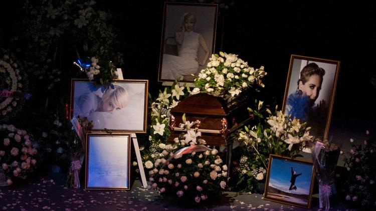 La despedida de Edith en el Teatro Jorge Negrete (Foto: Galo Cañas/cuartoscuro.com)