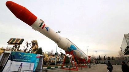 Misil iraní de largo alcance