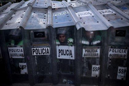 Los inculpados mismos declararon en un testimonio cuál era la ubicación de los restos del desaparecido. La víctima fue hallada en un pozo localizado en el ejido Tacoteno del municipio de Minatitlán (Foto: Pedro Anza/Cuartoscuro.com)