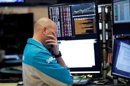 La bolsa de Nueva York tuvo que suspenderse temporalmente por segunda vez en la semana (Reuters)