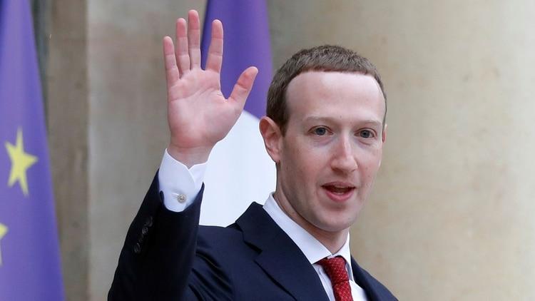 Mark Zuckerberg, CEO de Facebook (Reuters)