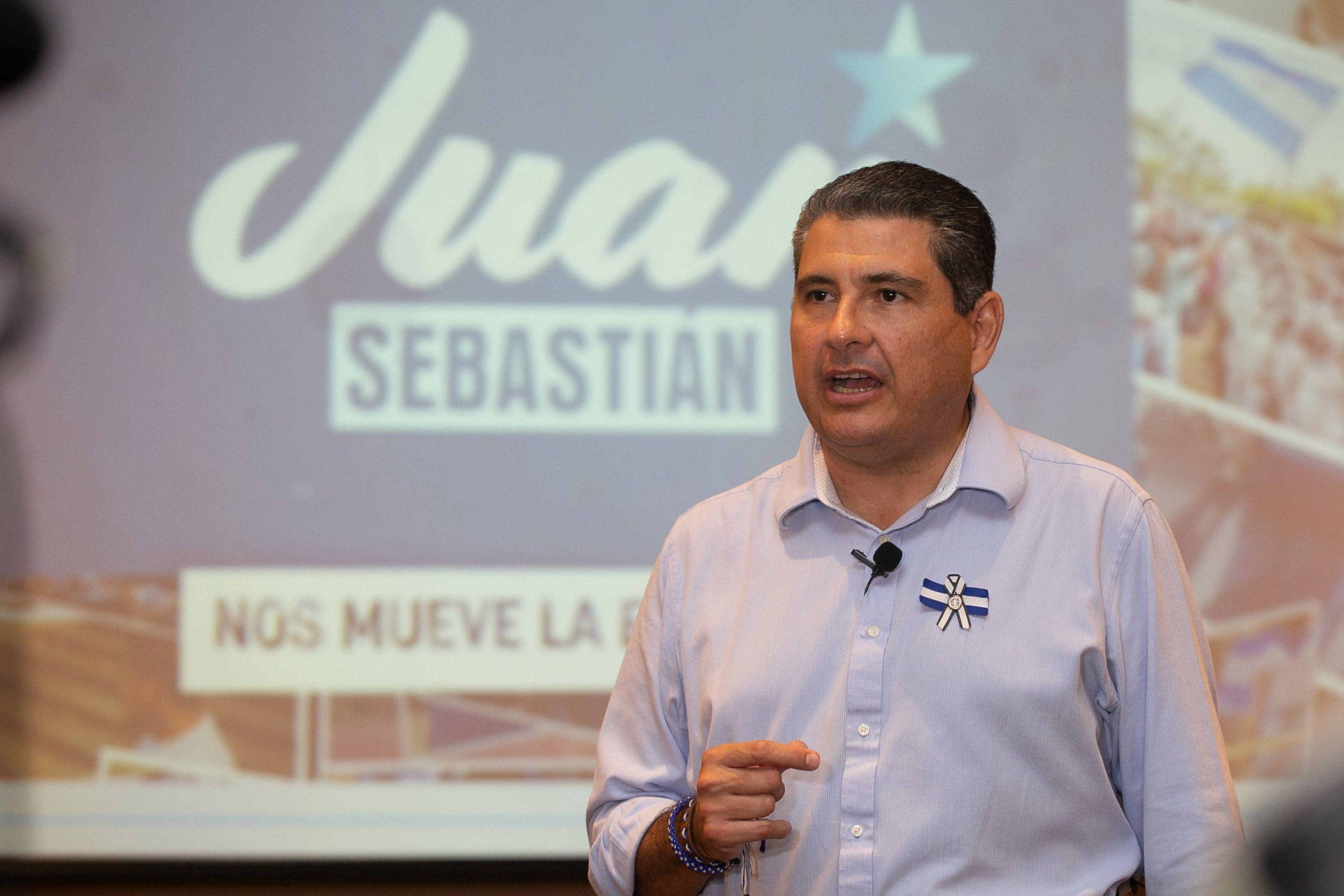 Juan Sebastián Chamorro (EFE/Jorge Mejía Peralta/Equipo Juan Sebastián Chamorro)