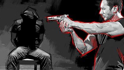 Los levantones por sicarios se han convertido en una cosa común en México (Ilustración: Infobae, Jovani Silva)