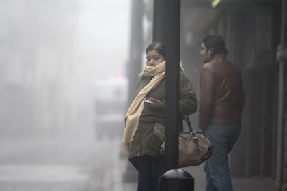 This Sunday, January 17, a cold environment was experienced in much of the country, as well as heavy rains and showers in many states (Photo: EFE / Miguel Sierra / File)