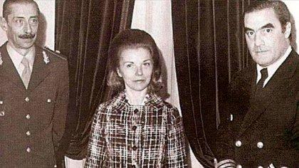 La viuda de Perón, fue derrocada el 24 de marzo de 1976.