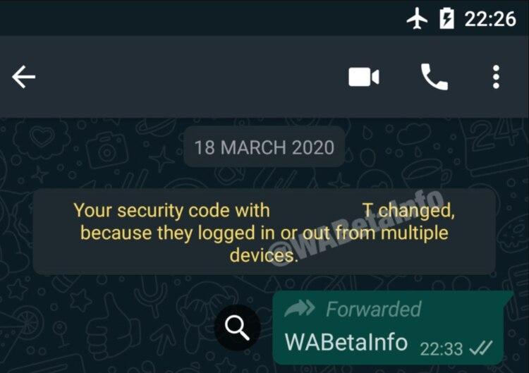 El inicio de sesión en múltiples dispositivos es una de las novedades en las que trabaja WhatsApp