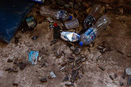Imagen ilustrativa. Los restos de un enfrentamiento en Aguililla, Michoacán (Foto: JUAN JOSÉ ESTRADA SERAFÍN/ CUARTOSCURO)