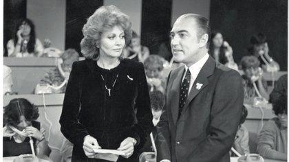 La dupla histórica con Pinky (Foto Archivo GENTE)