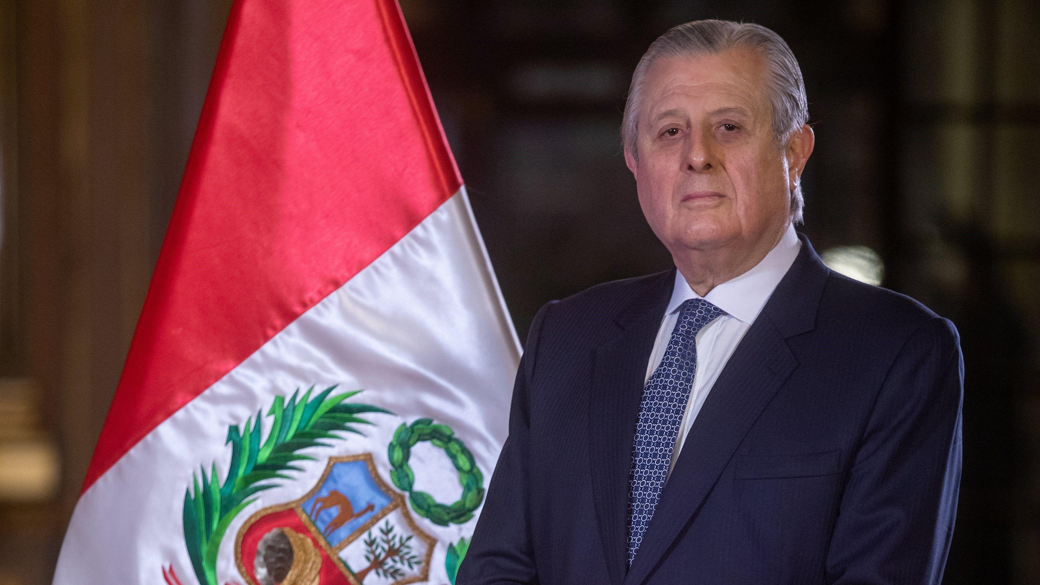21-08-2021 El ministro de Relaciones Exteriores de Perú, Óscar Maúrtua POLITICA SUDAMÉRICA PERÚ CANCILLERÍA PERUANA