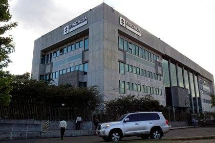 Imagen de archivo de la fachada de la Fiscalía General de Colombia, en Bogotá, Febrero 12, 2020. REUTERS/Luis Jaime Acosta