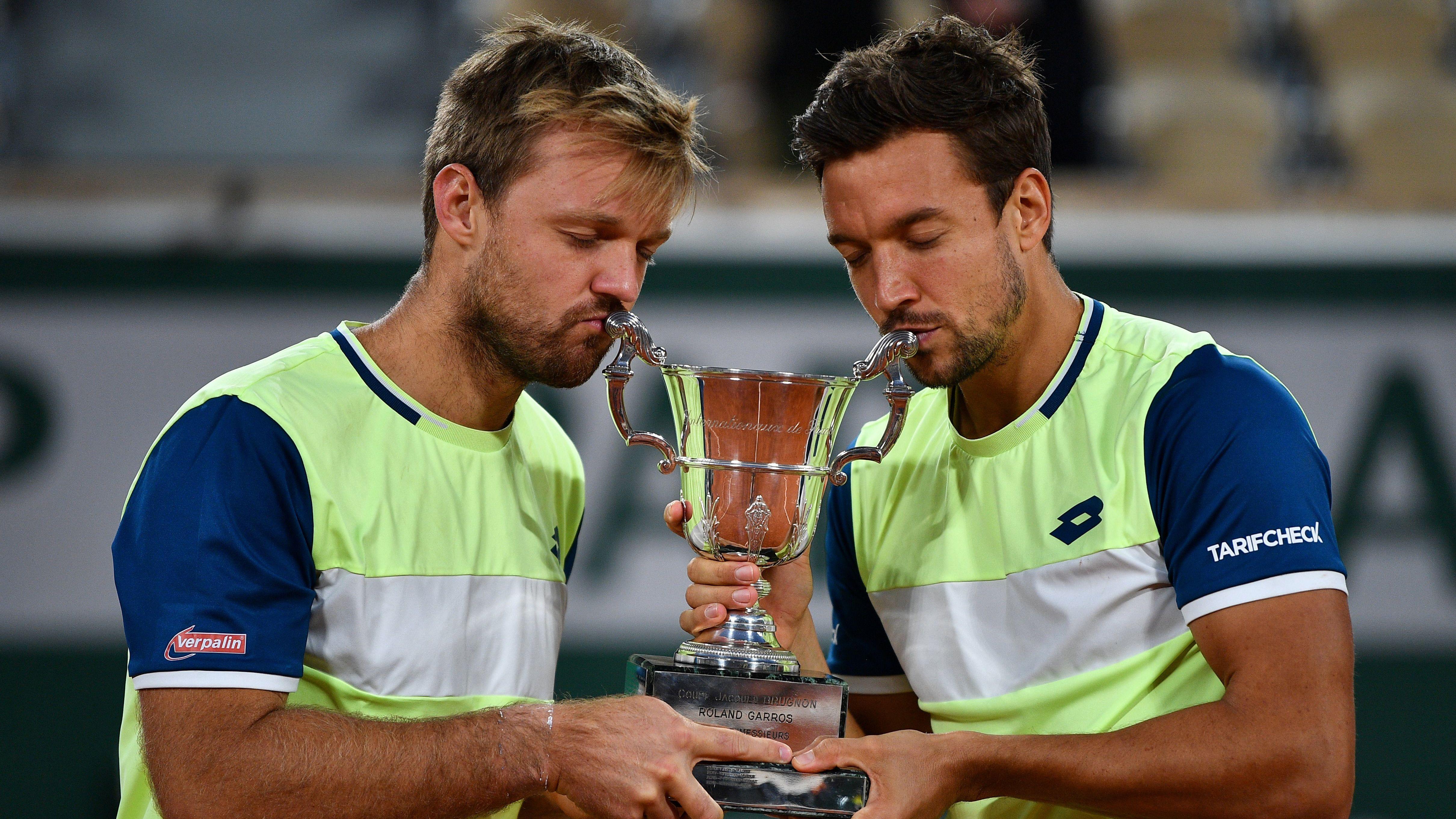 Kevin Krawietz y Andreas Mies campeones del dobles masculino de Roland Garros