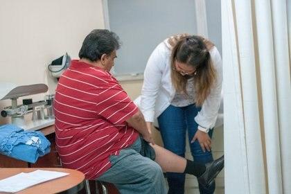 El 22% de los pacientes de COVID-19 que participaron en el estudio sufrieron una embolia pulmonar, y de ellos 6 de cada 10 eran obesos. (DIEGO SIMÓN SÁNCHEZ /CUARTOSCURO.COM)