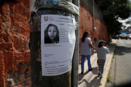 Alicia fue encontrada muerta dentro de un tinaco (Foto: REUTERS/Luis Cortes)